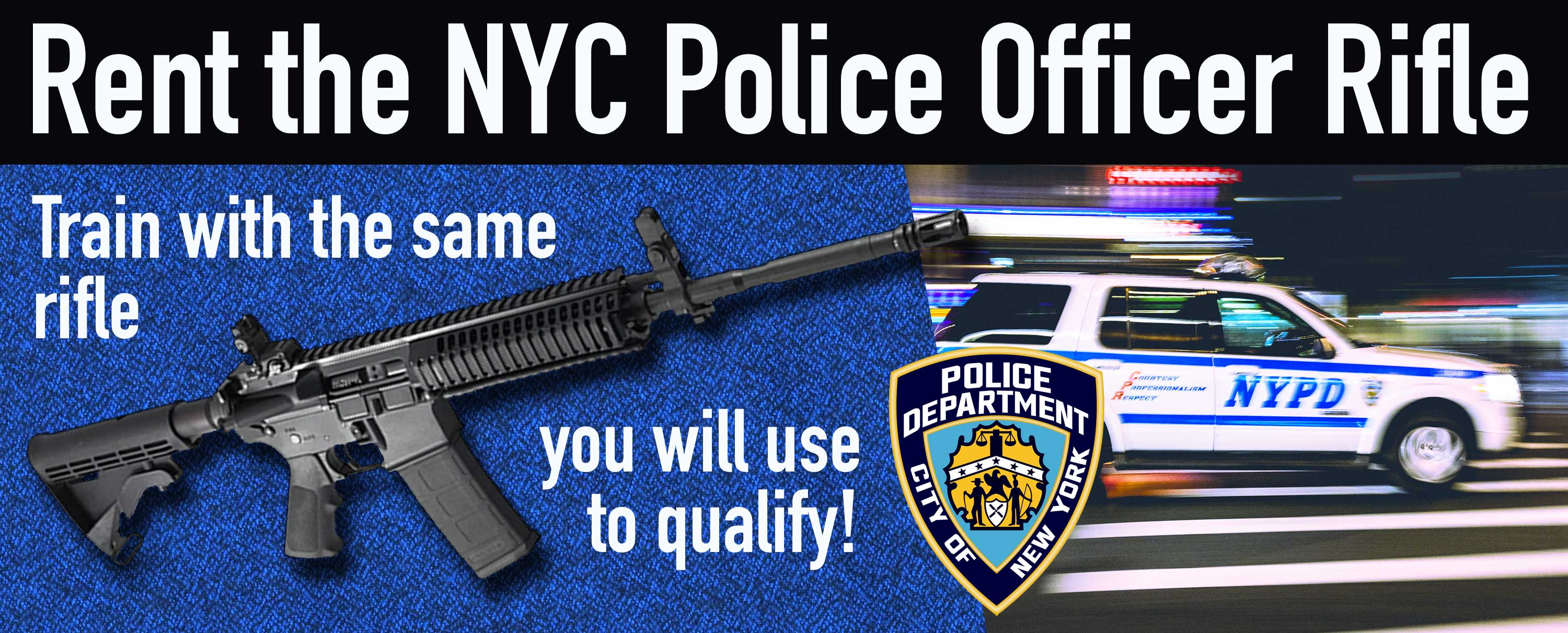 NYPD Rifle Qualification - NYPD Gun Rental