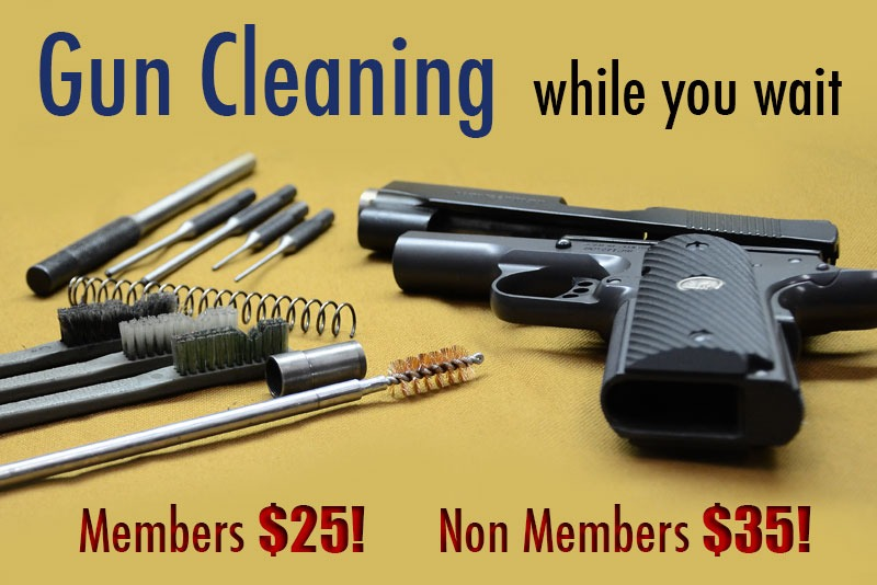 Gun Cleaning - Members