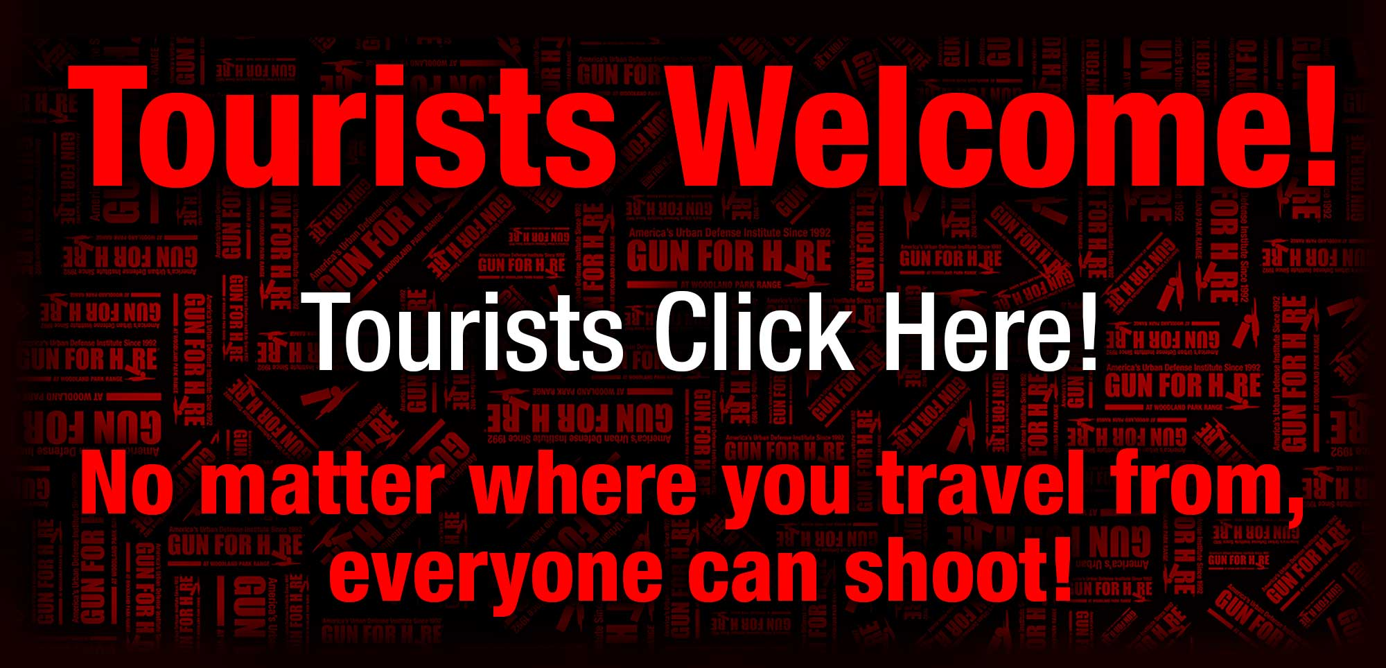 Welcome Tourist 1 - Who Can Shoot?